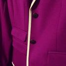 【❤値下げ!!^GAPの紫色&ホワイト2ボッタンジャケット^❤新品送料無料!❤】 - 和光市