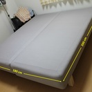 IKEAのSULTAN SKALAND キングサイズベッド