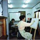 阪急上新庄駅から徒歩2分の絵画教室、中国語教室。教室、事務所等の...
