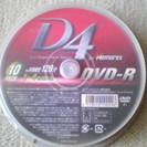 《新品》DVD-R  10枚10組。  バラ売り可。