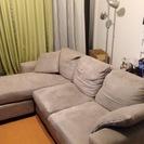 【名古屋市内の方希望】3人掛けL字型ソファーお譲りします