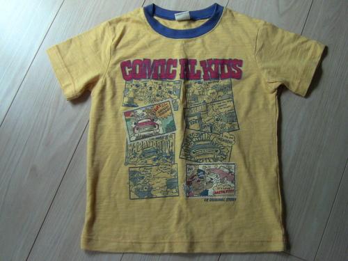 c3215c49cb145 水通しのみサイズ120コミカルキッズの半袖Tシャツ (mir) 横浜のキッズ ...