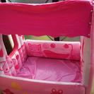 可愛いビニールプール+120×104+ピンク