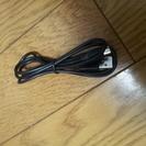 USBケーブル ブラック ドコモ充電、WIFI充電等に使ってます。1m