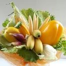 美栄ベジフルフラワー講座~野菜・果物で作る花束
