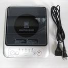 ★無料★DRETEC コンパクトIH電磁調理器(シルバー) DI-210