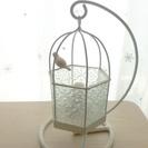 【終了】★美品★ テーブルランプ 鳥かご 小鳥 アンティーク風 ...