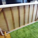 【シングルベッド】無印良品、取り外し可能な脚付きマットレス(シングルサイズ)・4〜5年使用・脚の長さ20cm - 市川市