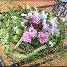 町田 唐木田 渕野辺 から近く、大人の女性に愛される花をコンセプ...