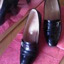 【値下げしました!!】 レトロ 高級革靴 「銀座ワシントン」 外箱付き