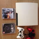 ☆中古PS3ソフト2本コントローラー2個付き☆