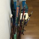 【交渉中】釣り竿、リール、クーラーボックス