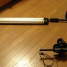 ドラフター(製図台)用、蛍光灯照明