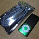 売切れ ipod nano 5th【8GB グリーン】