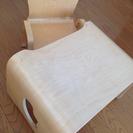 【木の家具】キコリの小いす&テーブルセット