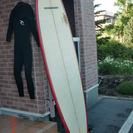 サーフボード 8'6 赤白