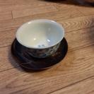 深皿、六花亭スープ皿、湯呑み(銅茶たくつき)