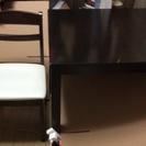 テーブル・イス(1脚)のセット