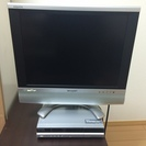 2005年製液晶テレビ(SHARP AQUS 20インチ)+地デ...
