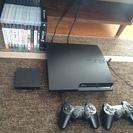 【豪華セット】PS3本体、ソフト15本、torne、32型TVの...
