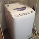 5.5k洗濯機SHARP ES-TG55L 1月11日までに引き取...
