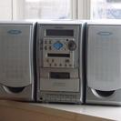 MD/CD/カセット/ラジオ コンポ《LCX-MD210》