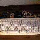 キーボードとマウス差し上げます。