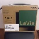 【衝撃価格】新品未使用◆NEC LavieS LS150/SSW