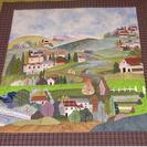 絵模様のパッチワーク -絵模様のパッチワークの手法で布を縫い上げ...