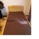 ◆ニトリで購入シングルベット 木製フレーム◆交渉中