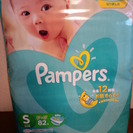 ◆パンパース テープ 82枚 S◆