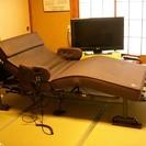 アテックス製収納式電動リクライニングベッドAXーB635EW(シン...