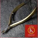 メーカー最上級品 ドイツ製 プロ仕様のネイルクリッパー
