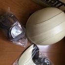 未使用の革製ヘルメット