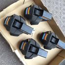 TERZO フット  EF11BL  鍵付き4個セットの画像