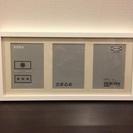 IKEA RIBBAフレーム ホワイト