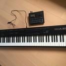 無料 Roland A-33 Midiキーボードをお譲りします。