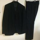 (4)ノータック 二つボタン スーツ 胸囲96-胴囲86-身長1...