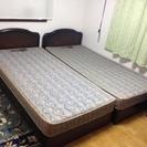 美品  フランスベッド  シングル2台