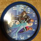 アナと雪の女王の掛け時計