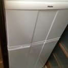 【あげます】冷蔵庫 単身向け