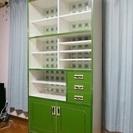 昭和レトロポップ食器棚