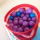 ボールプール用カラーボール 196個