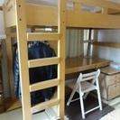 システムベッド(学習机とベッド)の画像
