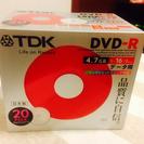 未開封 データ用DVDディスク20パック!