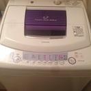 【終了】TOSHIBA全自動洗濯機と小型冷蔵庫譲ります。 梅田、...