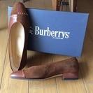 Burberry 靴ブラウン