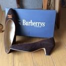 Burberry 靴 こげ茶