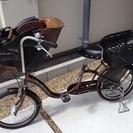 アサヒサイクル 子供乗せ自転車 ママフレンドミニ 20インチ