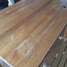 ※受付終了※【無印良品】パイン材の折りたたみテーブル・折りたたみチェア二脚セット - 京都市